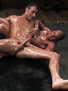 Oiled Gay Porn