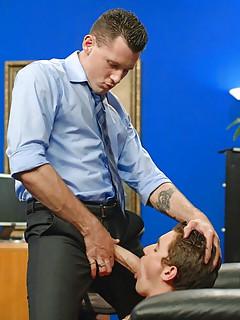 Gay Office Porn
